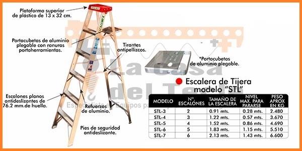 Escalera de Tijera Modelo STL